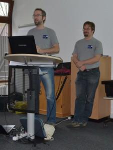 Florian Mösch und Winfried Schöch(Auswerterteam SeKo) stellten die Ergebnisse der Landesliga 2014 dar. In 20 von 23 Wertungswochen wurde geflogen. Der beste Tag war der 6.Juni mit 140 Wertungsflügen.