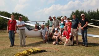 Segelflieger beenden erfolgreichen Sommerlehrgang