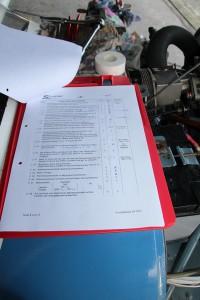 Die umfangreiche Checkliste für die 100 h Kontrolle.