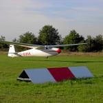 Punktlandung beim Ziellandeswettbewerb