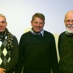 Die drei 1000er Piloten ! (v.l.n.r. Christoph und Ullrich S. Schwarz - LSV Kreis Segeberg, Horst Tollgreef - Ikarus)