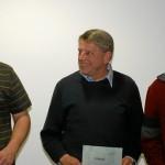 Vereinswertung Landesliga 2010. Die Urkunden wurden an Repräsentanten der Vereine übergeben. (v.l.n.r. R. Obeloer - Aeroclub Kropp, U. Schwarz - LSV Kreis Segeberg, H. Döhler - ACvL)