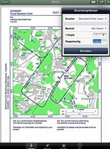 Vollständige VFR-Anflugkarten