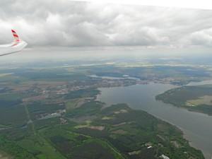 16.05.2014, ein DuoDiscustrainingsflug mit Lars, hier bei Waren an der Müritz. Gutes Vorankommen unter Aufreihungen.