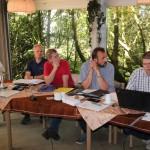 Frank Heitmann (links im Bild) scheidet aus dem Vorstand aus. Jens Kröger wird als neuer 3. Vorsitzender gewählt.