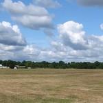 Unser Flugplatz von der Startstelle 29 aus gesehen.