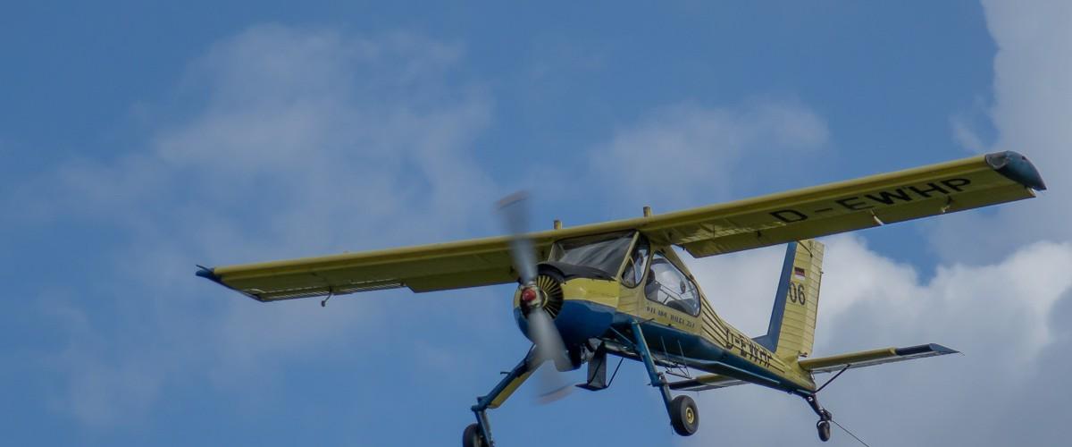 Schleppflugzeug Wilga