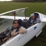 Christoph und Ullrich Schwarz landen nach über 800 Kilometern