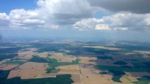 Wolken bis Rügen
