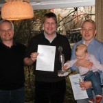 Christoph Schwarz und Oliver Thomsen erreichen mit über 900 Kilometern den weitesten Flug aus Wahlstedt