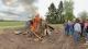 Osterfeuer ein voller Erfolg: Jugendliche luden zum gemeinsamem Osterfeuer ein