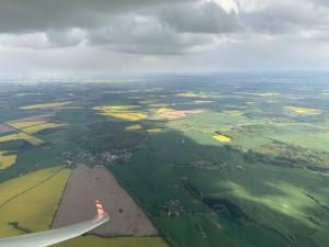 Blick Richtung Osten von Roggendorf aus