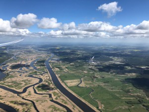Die Oder - Fotografiert auf dem Weg Richtung Zauberwald aus dem Nimbus 4DM