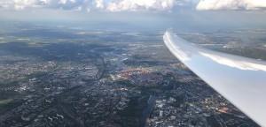 Hansestadt Lübeck auf dem Heimflug gen Itzehoe