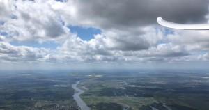 Querung der Oder auf dem Heimweg