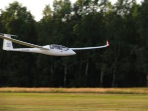 Abschluss eines großen Traumes mit einem Überflug am Flugplatz Wahlstedt.
