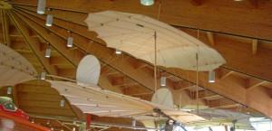 Historisches Segelflugzeug