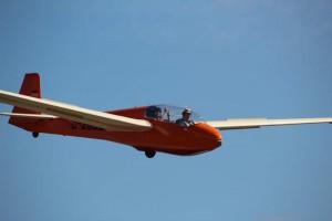Einen Flug zur Entspannung als Co-Pilot von Dirk Völkering.