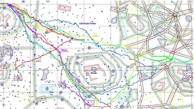6. Juni 2014 – Stefan Delfs fliegt 1019 Kilometer – Wir gratulieren!